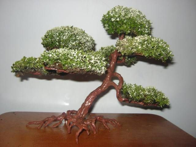 Своими руками дерево из мха