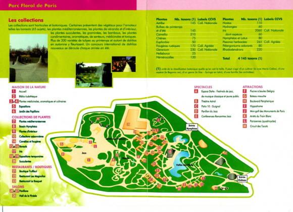 Схема парка Флораль