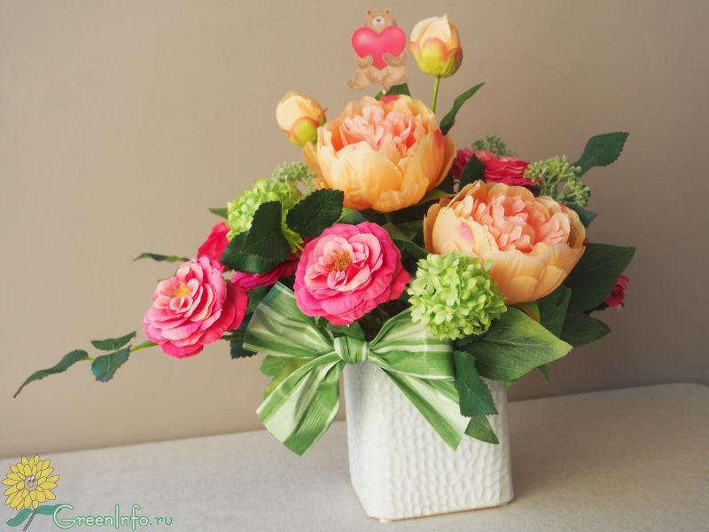 Стабилизированные цветы: фото