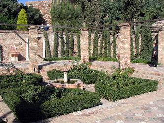 Мусульманский сад в Малаге, Испания