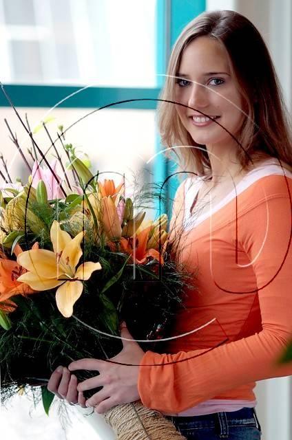 Новые цветы в флористике