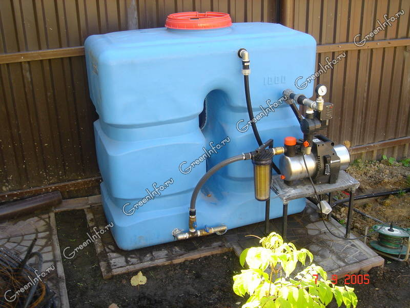 Насосная станция для полива газона 100 метров