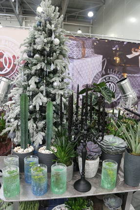 Новогодние флористические композиции